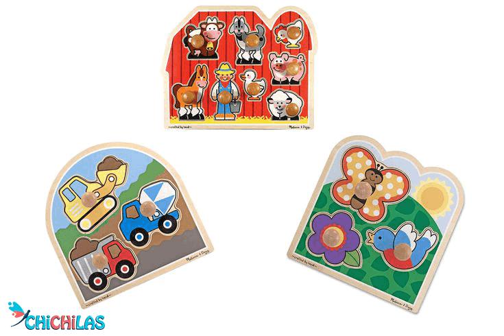 چیچیلاس - اسباب بازی - پازل - اسباب بازی مهارتی کودک