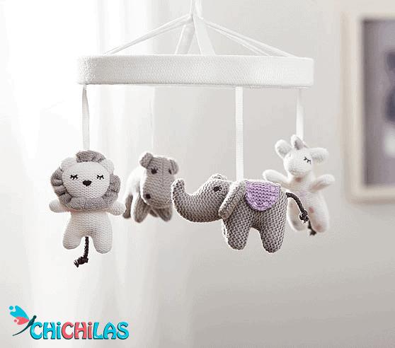 آویز تخت کودک - سیسمونی - اسباب بازی نوزاد - اسباب بازی کودک - چیچیلاس - اسباب بازی مناسب - بازی مناسب کودک