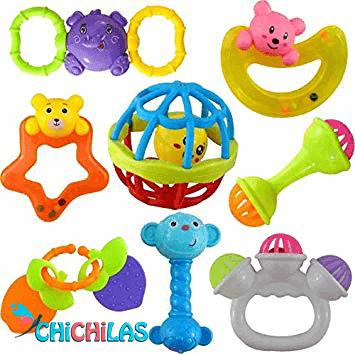 جغجغه - سیسمونی - اسباب بازی نوزاد - اسباب بازی کودک - چیچیلاس - اسباب بازی مناسب - بازی مناسب کودک