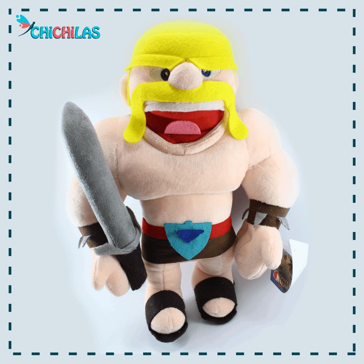 چیچیلاس - عروسک کلش اف کلنز - عروسک clash of clans - عروسک خارجی - عروسک پولیشی - عروسک باربارین