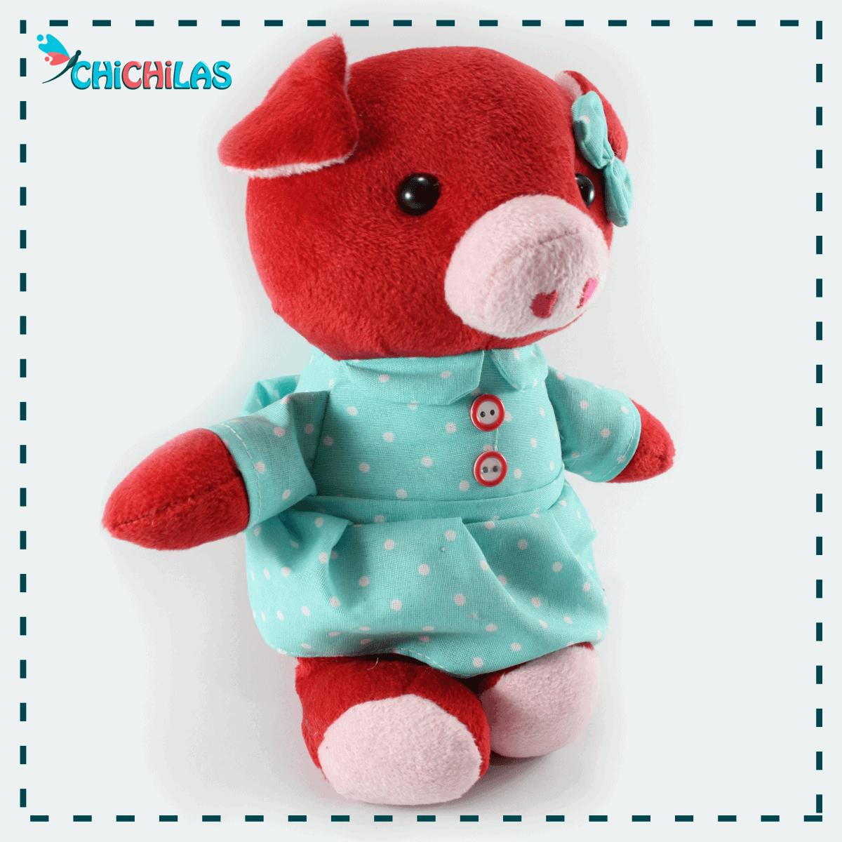 چیچیلاس - عروسک خوک - عروسک خارجی - عروسک دخترانه - فروشگاه عروسک - خرید عمده عروسک