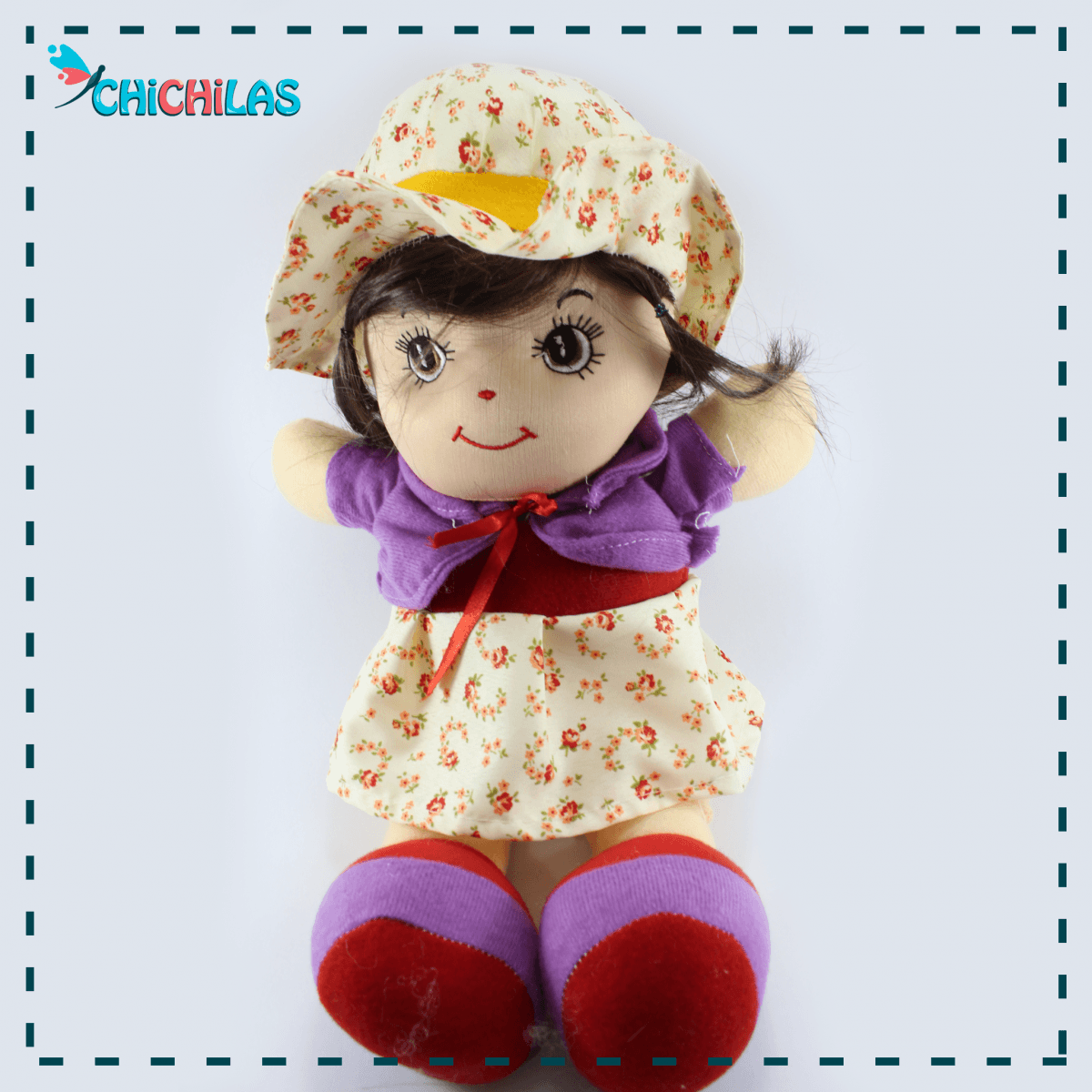 چیچیلاس - عروسک - عروسک دخترانه - عروسک - عروسک دختر ناز - فروش عمده عروسک در تهران - فروشگاه اینترنتی عروسک