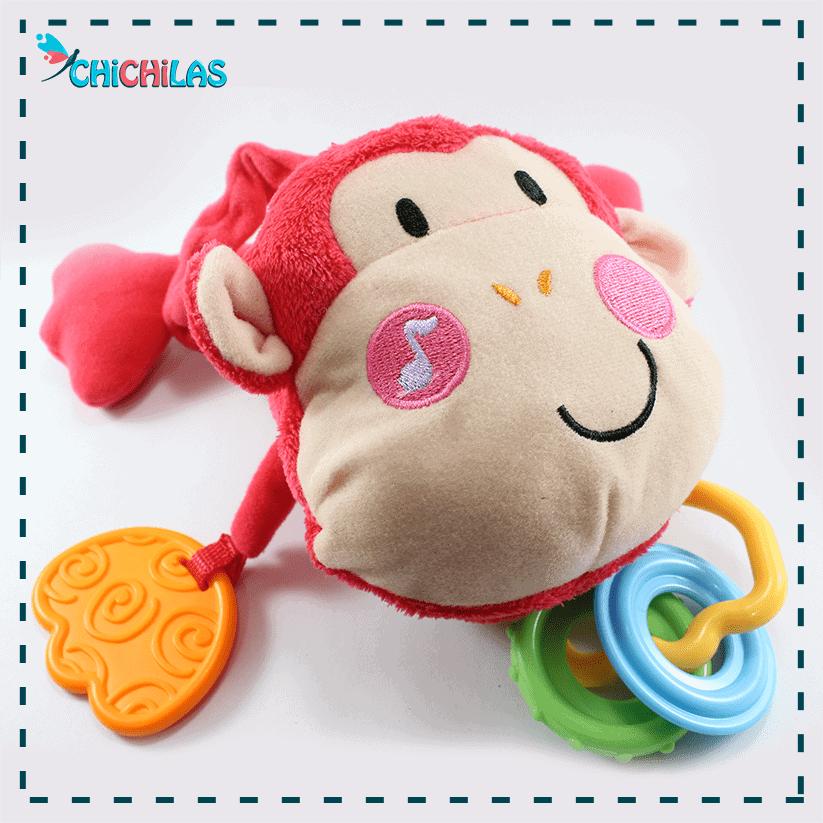چیچیلاس - عروسک سیسمونی میمون - عروسک سیسمونی - عروسک نوزاد