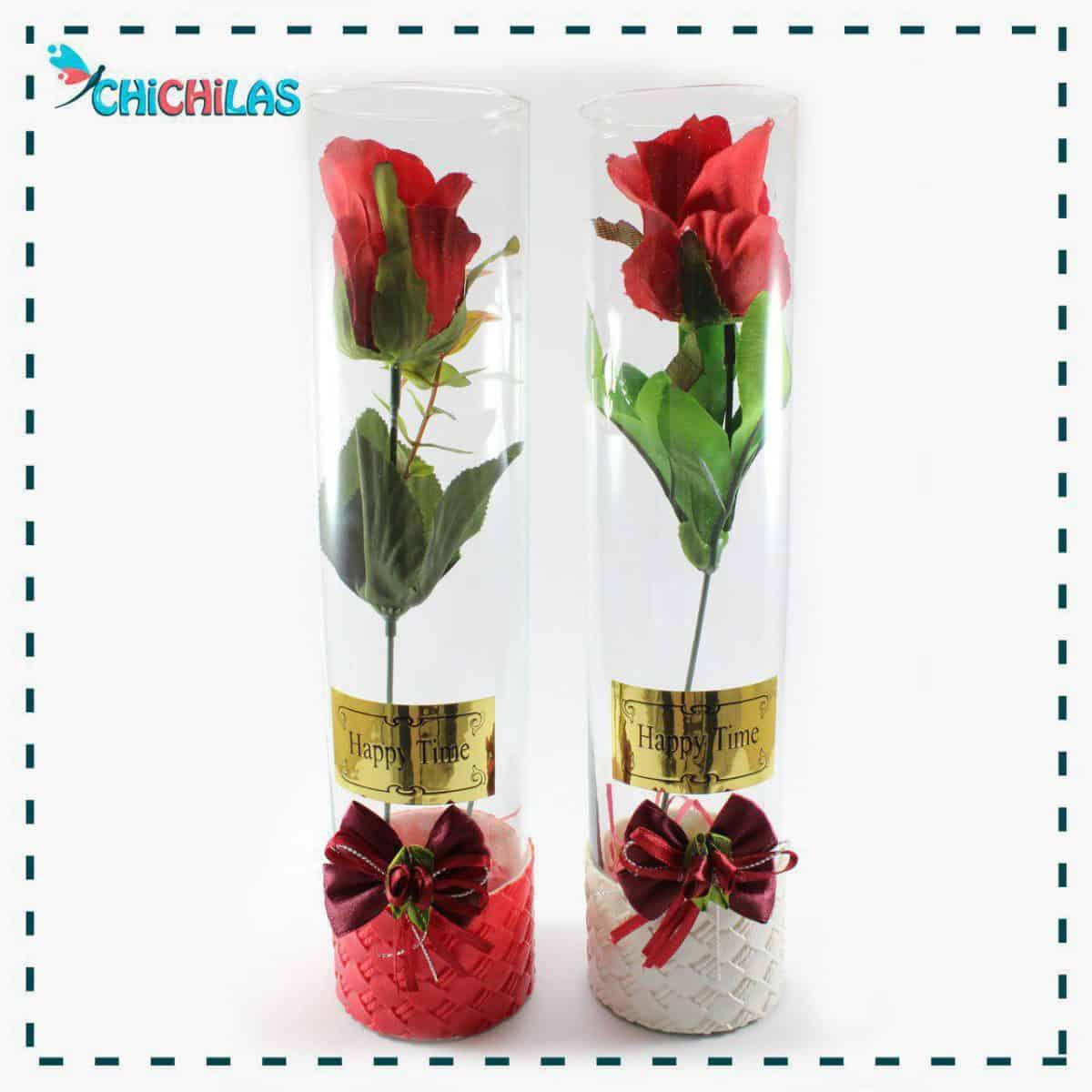 چیچیلاس - گلدان شیشه ای - گلدان دکوری - چیچیلاس - فروشگاه دکوری - گلدان رومیزی - کادویی - هدیه - ولنتاین