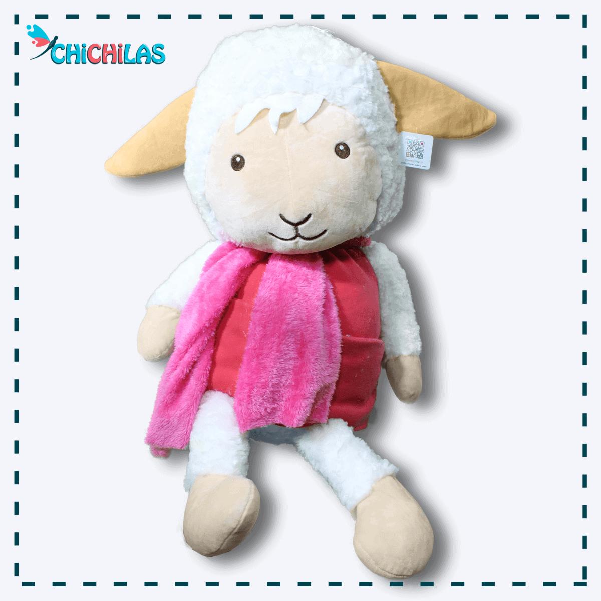 چیچیلاس - عروسک ببعی - عروسک گوسفند - عروسک ببعی بزرگ - عروسک دخترانه - فروشگاه عروسک - خرید عروسک