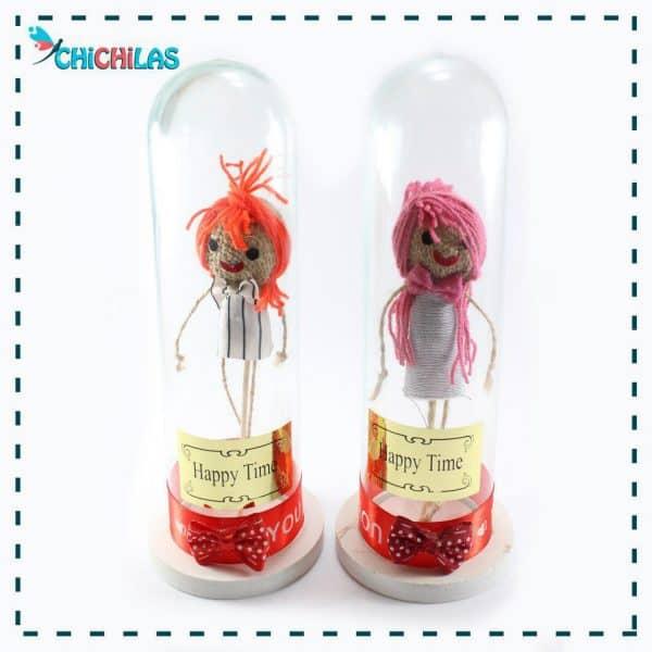 چیچیلاس - عروسک کاموایی - دختر کاموایی - دکوری - عروسک - عروسک دکوری - فروشگاه عروسک