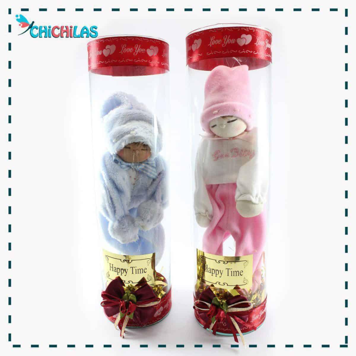 چیچیلاس - عروسک نوزاد - عروسک نوزاد پسر - عروسک نوزاد دختر - عروسک پولیشی - فروشگاه دکوری - خرید عمده عروسک