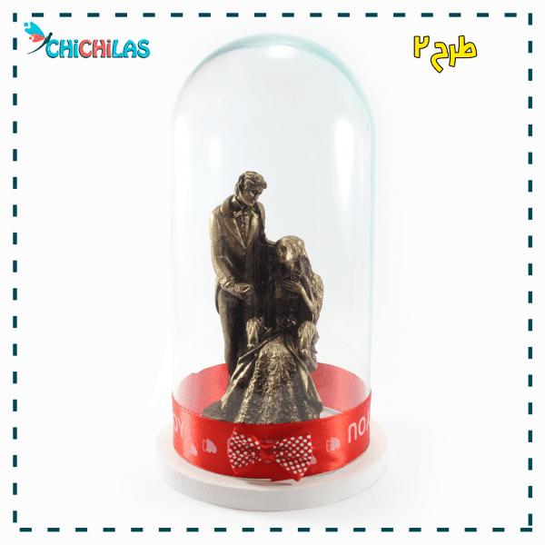 چیچیلاس - مجسمه ولنتاین - مجمسه عشق - مجسمه عروس و داماد - مجسمه دختر و پسر - کادو ولنتاین