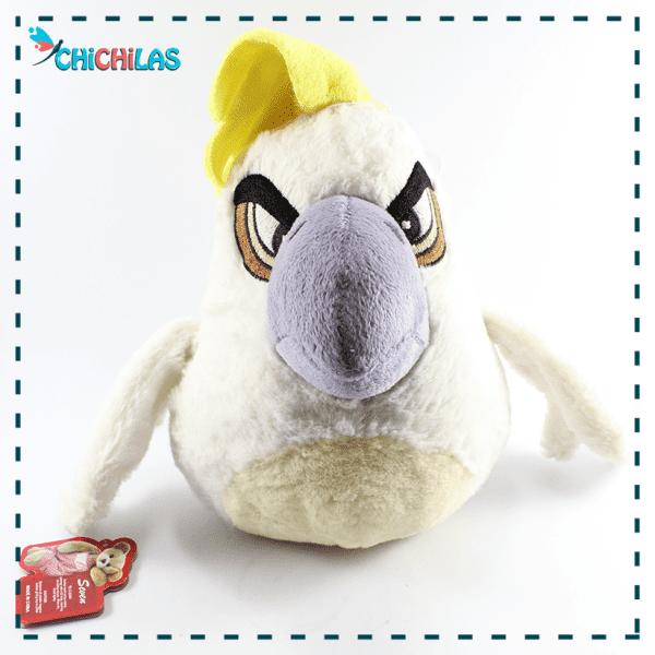 چیچیلاس - عروسک angry bird- عروسک پرندگان خشمگین - عروسک پرنده - عروسک کارتونی