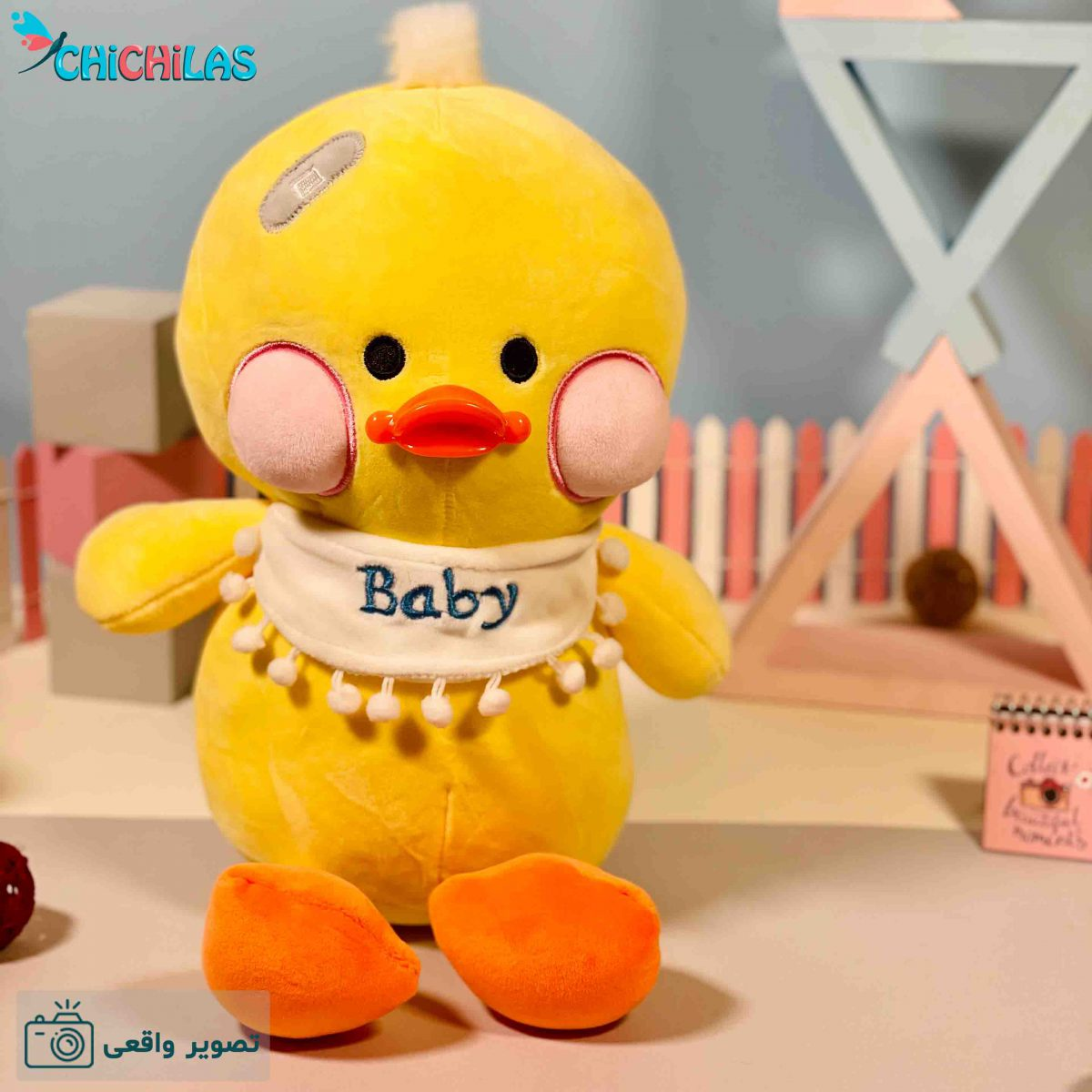 عروسک جوجه بیبی - جوجه عروسکی - عروسک جوجه زرد - عروسک جوجه baby - عروسک جوجه زخمی