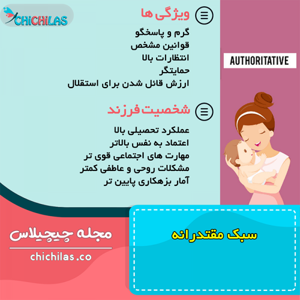 فرزندپروری - سبک مقتدرانه - روانشناسی کودک