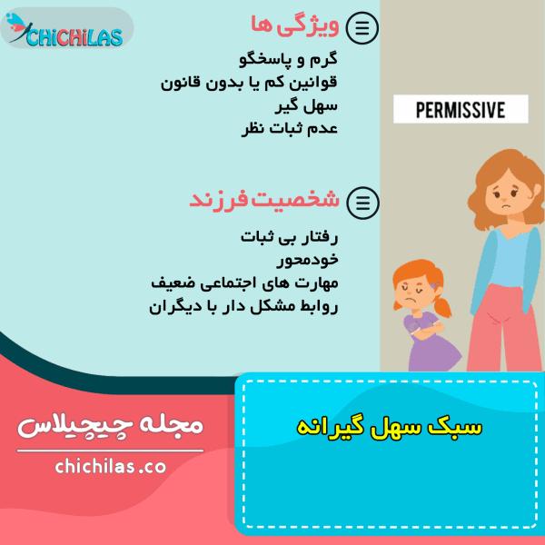 فرزندپروری - سبک سهل گیرانه- روانشناسی کودک