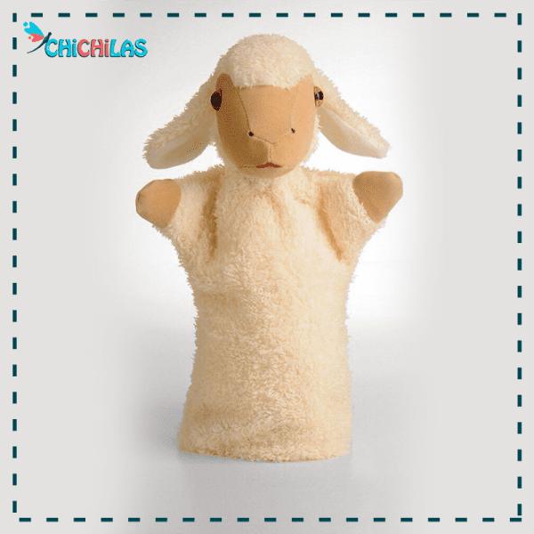عروسک نمایشی گوسفند - پاپت گوسفند - عروسک نمایشی حیوانات