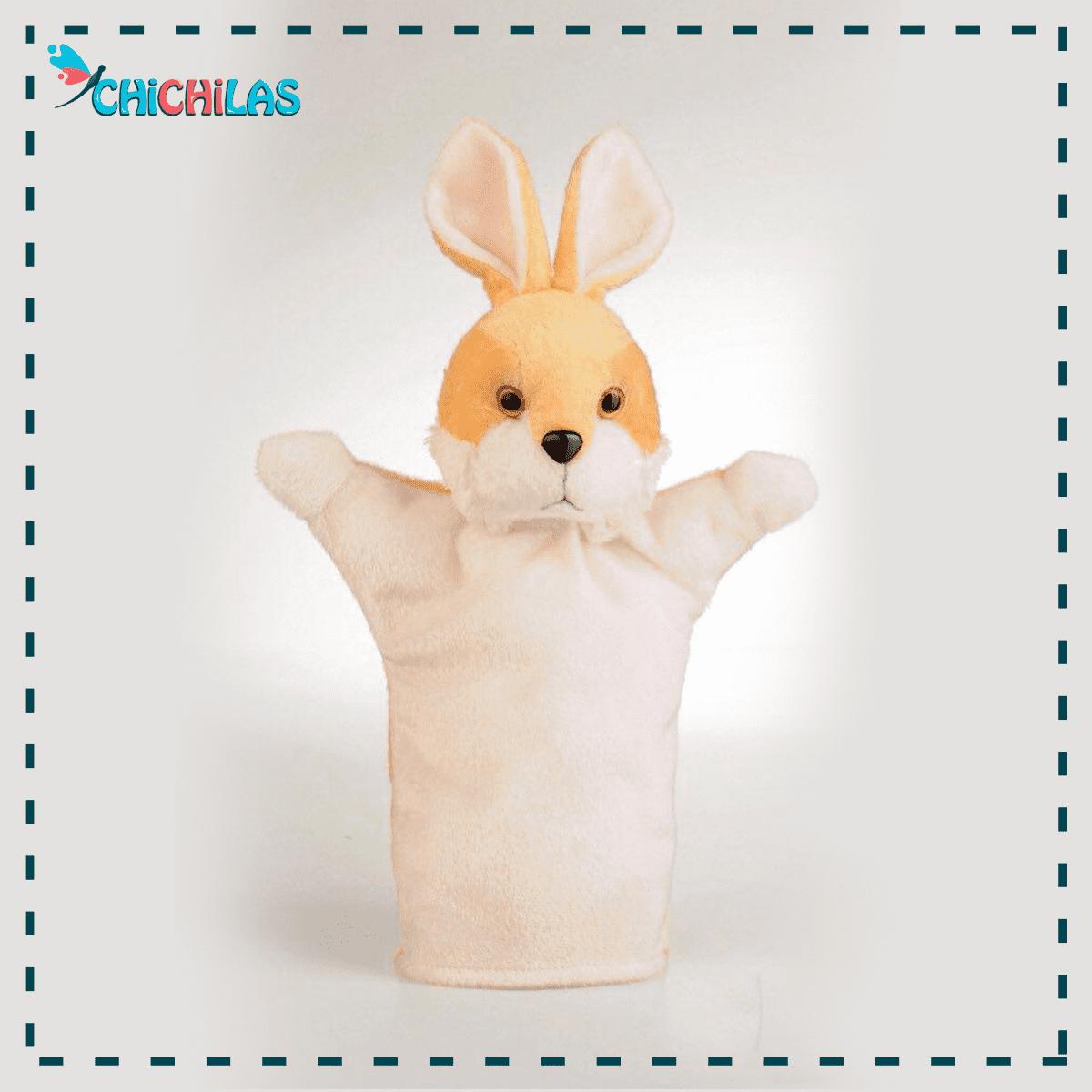 عروسک نمایشی خرگوش - پاپت خرگوش - عروسک نمایشی حیوانات