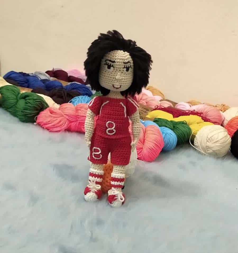 عروسک کاموایی - عروسک دست ساز